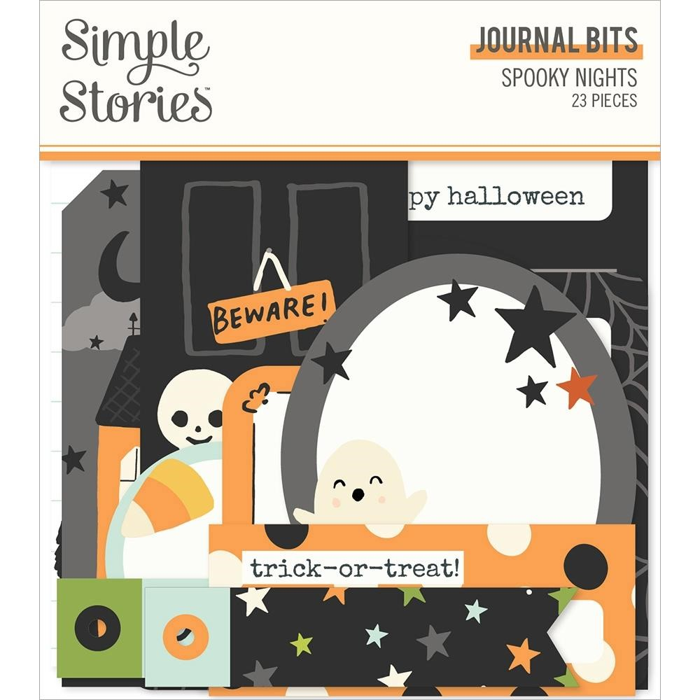 Simple Stories SPOOKY NIGHTS Journal Bits And Pieces 16417 zoom image