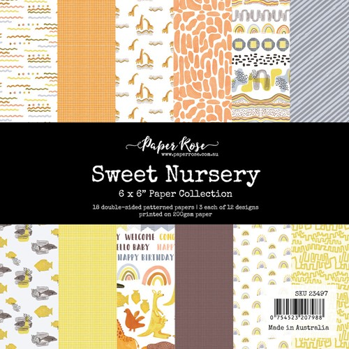 Paper Rose SWEET NURSERY 6x6 Paper Pack 23497 Preview Image
