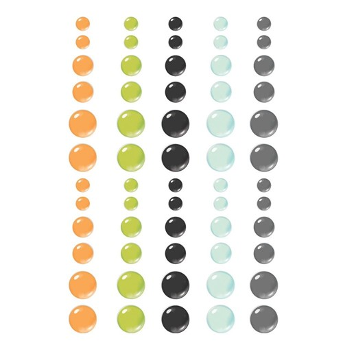 Simple Stories SPOOKY NIGHTS Enamel Dots 16421 Preview Image