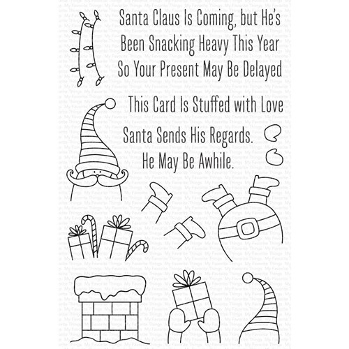 My Favorite Things STUFFED SANTA Clear Stamps cs596 Preview Image