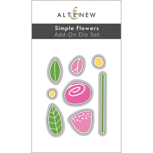 Altenew SIMPLE FLOWERS ADD ON Dies ALT6442 Preview Image