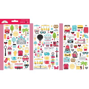 Doodlebug FUN AT THE PARK Mini Icons Stickers 7313