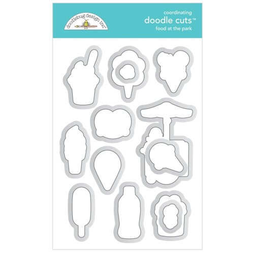 Doodlebug FOOD AT THE PARK Doodle Cuts Dies 7317 Preview Image