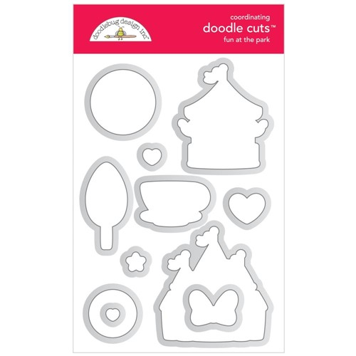 Doodlebug FUN AT THE PARK Doodle Cuts Dies 7315 Preview Image