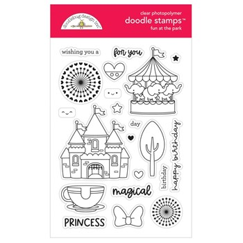 Doodlebug FUN AT THE PARK Clear Stamps 7314