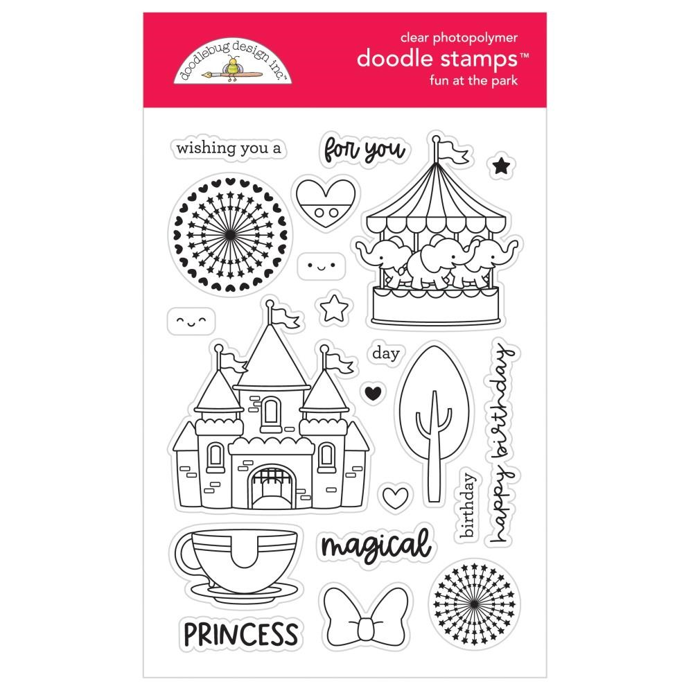 Doodlebug FUN AT THE PARK Clear Stamps 7314 zoom image