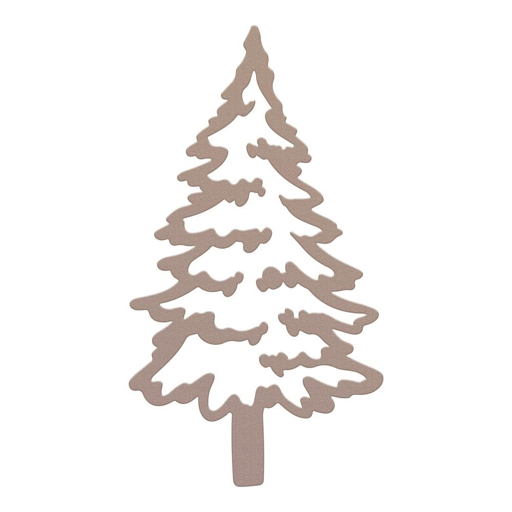Couture Creations RUSTIC CHRISTMAS TREE Mini Die co728570 zoom image