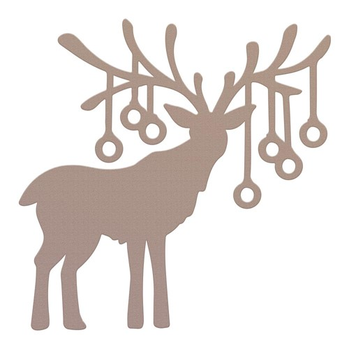 Couture Creations REINDEER BAUBLES Mini Die co728572 Preview Image