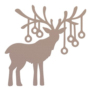 Couture Creations REINDEER BAUBLES Mini Die co728572