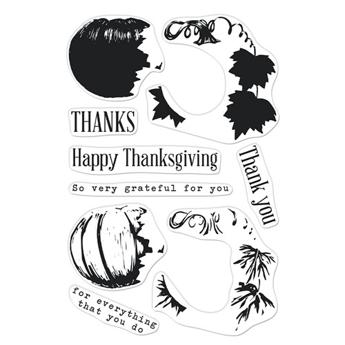 Hero Arts Clear Stamps COLOR LAYERING PUMPKIN CM567 Preview Image