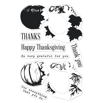 Hero Arts Clear Stamps COLOR LAYERING PUMPKIN CM567