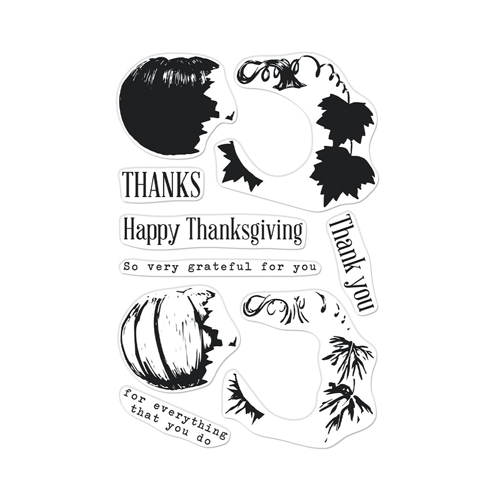 Hero Arts Clear Stamps COLOR LAYERING PUMPKIN CM567 zoom image