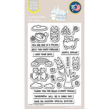 Penguin Palace MY BFF Clear Stamp Set ppc2030