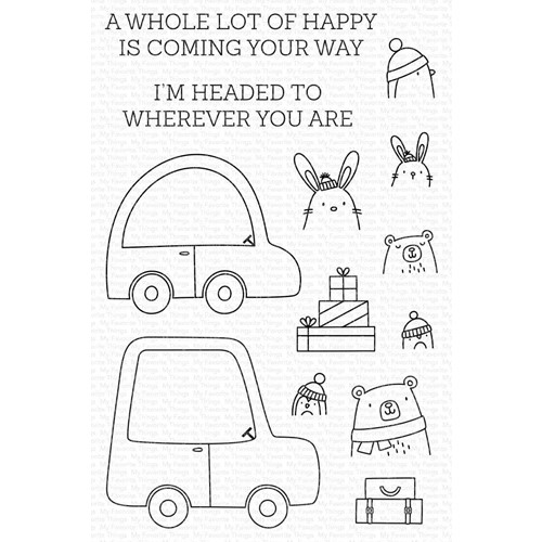 My Favorite Things SPECIAL DELIVERY Clear Stamps cs594 Preview Image