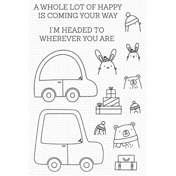 My Favorite Things SPECIAL DELIVERY Clear Stamps cs594