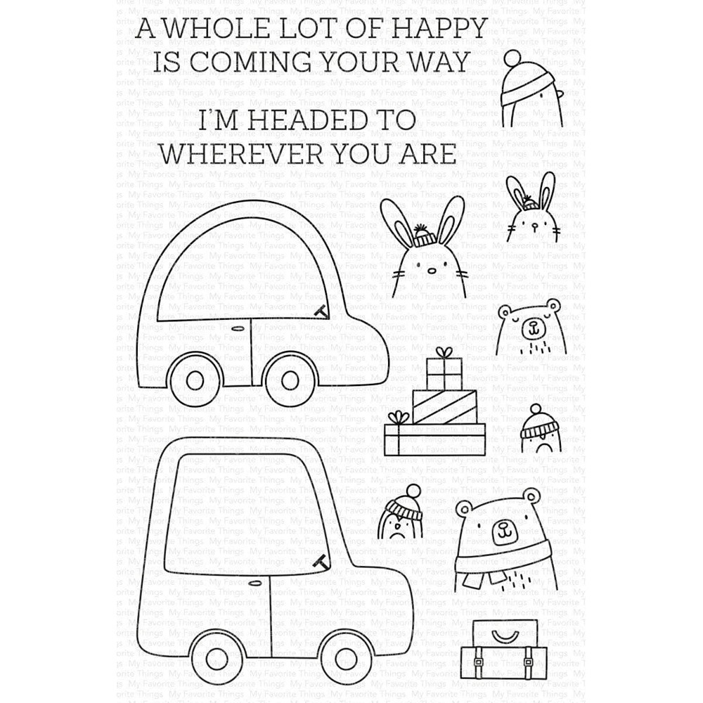 My Favorite Things SPECIAL DELIVERY Clear Stamps cs594 zoom image
