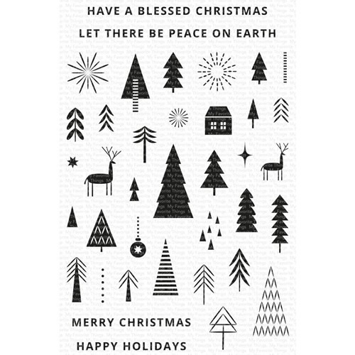 My Favorite Things ICONIC CHRISTMAS Clear Stamps cs592 Preview Image