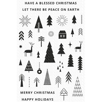 My Favorite Things ICONIC CHRISTMAS Clear Stamps cs592