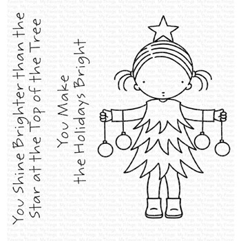 Pure Innocence BRIGHT HOLIDAYS Clear Stamps pi326
