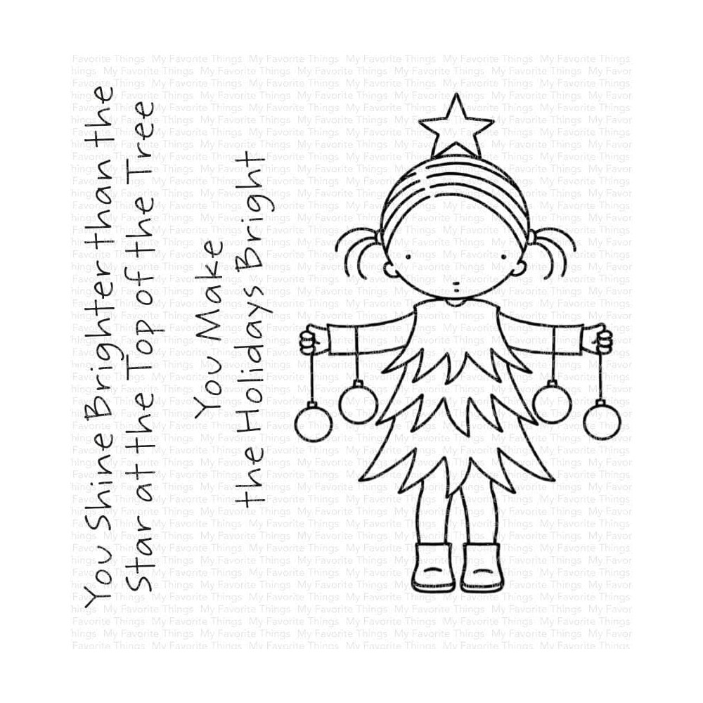 Pure Innocence BRIGHT HOLIDAYS Clear Stamps pi326 zoom image