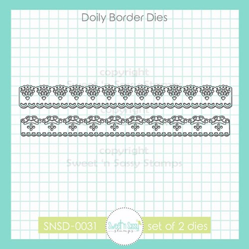Sweet 'N Sassy DOILY BORDER Dies snsd0031 Preview Image