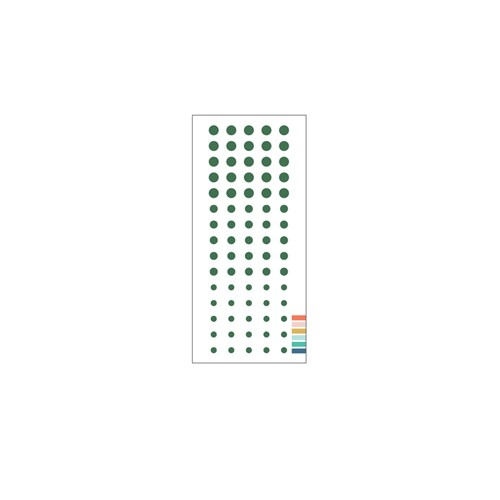 Concord & 9th EVERGREEN Enamel Dots 11218 Preview Image