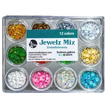 Buttons Galore and More Jewelz HOLIDAY MIX