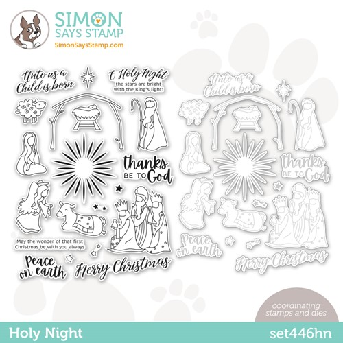 Simon Says Stamps and Dies HOLY NIGHT set446hn Preview Image