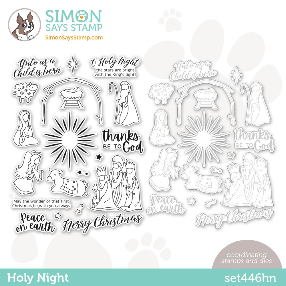 Simon Says Stamps and Dies HOLY NIGHT set446hn zoom image