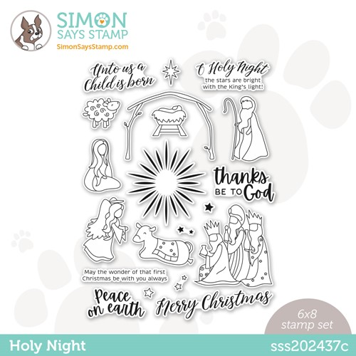 Simon Says Clear Stamps HOLY NIGHT sss202437c Preview Image