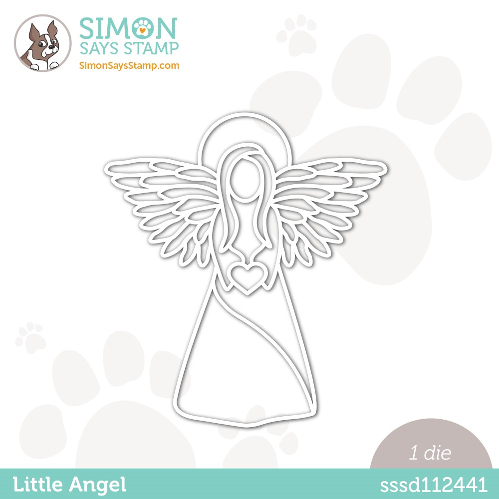 Simon Says Stamp LITTLE ANGEL Wafer Die sssd112441 zoom image