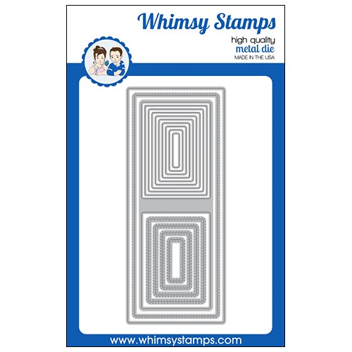 Whimsy Stamps SLIMLINE ATC WINDOW Dies WSD570 Preview Image