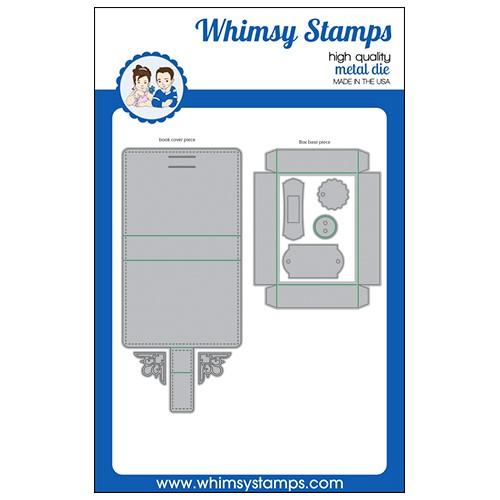 Whimsy Stamps ATC BOOK Dies WSD569 Preview Image