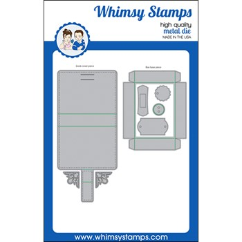 Whimsy Stamps ATC BOOK Dies WSD569