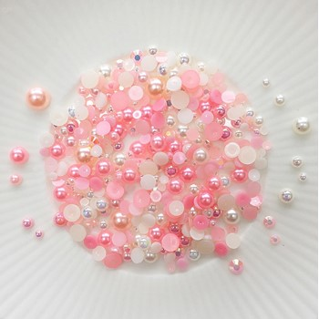 Little Things From Lucy's Cards Crystal Collection VINTAGE ROSE Sparkly Shaker Mix LB401