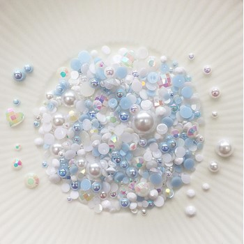 Little Things From Lucy's Cards Crystal Collection LOVE IN MIST Sparkly Shaker Mix LB400