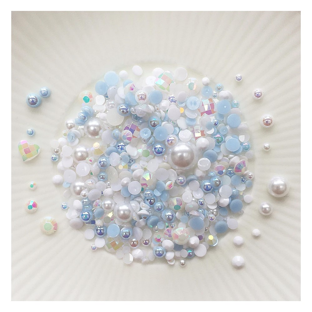 Little Things From Lucy's Cards Crystal Collection LOVE IN MIST Sparkly Shaker Mix LB400 zoom image
