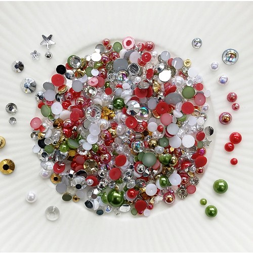 Little Things From Lucy's Cards Crystal Collection BAUBLES Sparkly Shaker Mix LB398 Preview Image
