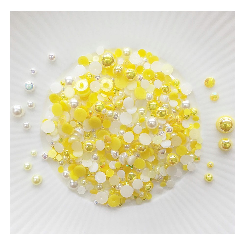 Little Things From Lucy's Cards Crystal Collection NARCISSUS Sparkly Shaker Mix LB397 zoom image