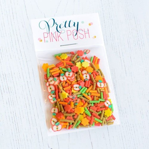 Pretty Pink Posh FALL HARVEST Clay Embellishments Preview Image