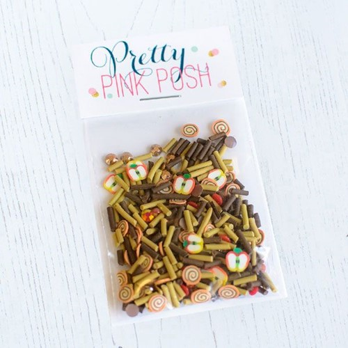 Pretty Pink Posh AUTUMN DAYS Clay Embellishments Preview Image