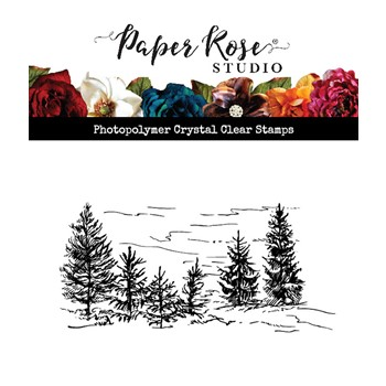 Paper Rose LITTLE FOREST Clear Stamp 23593