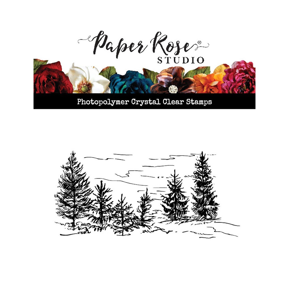 Paper Rose LITTLE FOREST Clear Stamp 23593 zoom image