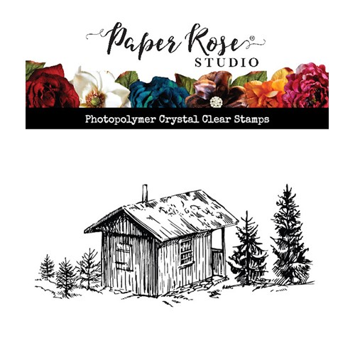 Paper Rose THE COTTAGE Clear Stamp 23587 Preview Image