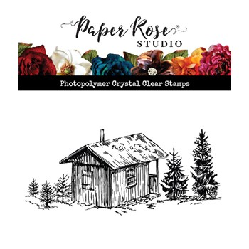 Paper Rose THE COTTAGE Clear Stamp 23587