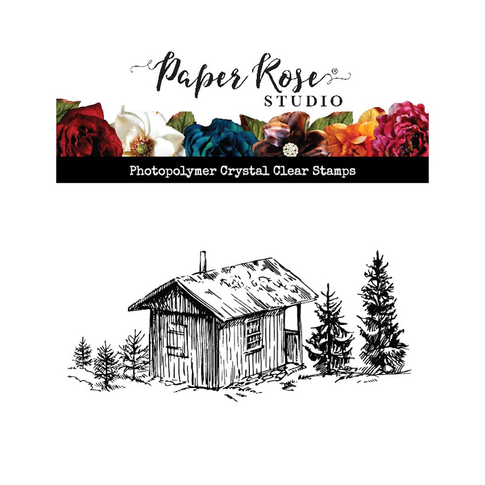 Paper Rose THE COTTAGE Clear Stamp 23587 zoom image