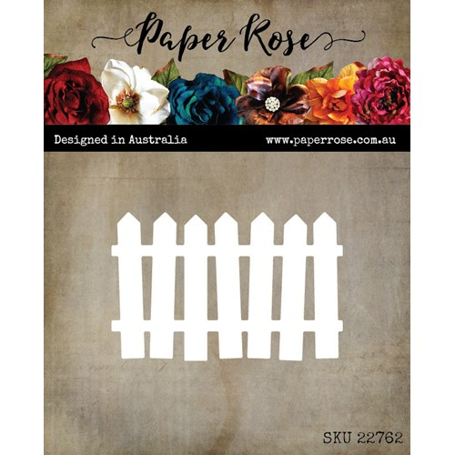 Paper Rose WONKY PICKET FENCE Die 22762 Preview Image
