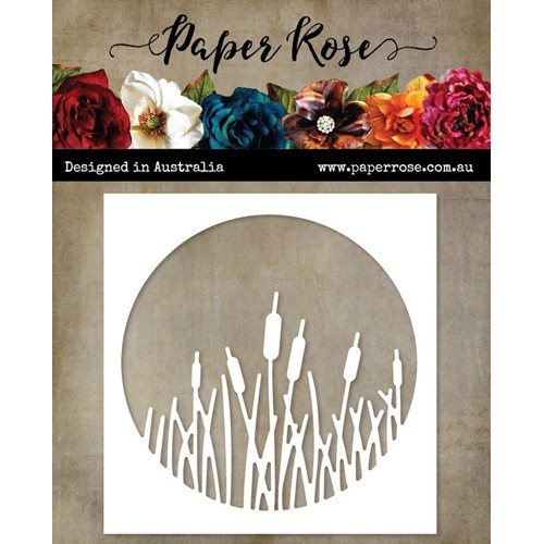 Paper Rose CATTAILS CIRCLE Die 23155 Preview Image