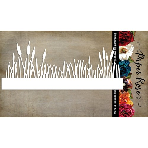 Paper Rose CATTAILS BORDER Die 23158 Preview Image
