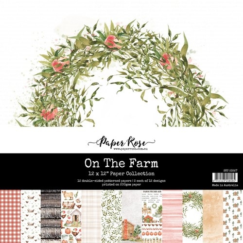 Paper Rose ON THE FARM 12x12 Paper Pack 23527 Preview Image